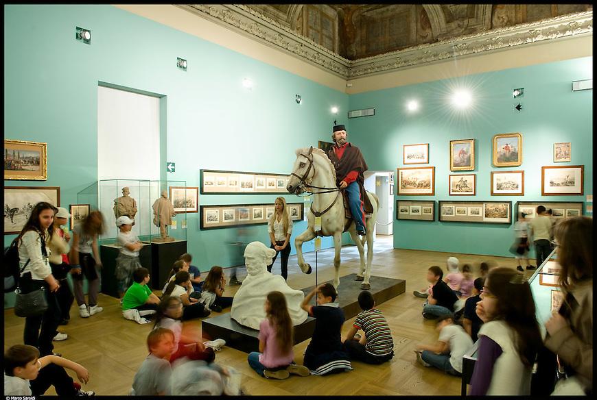 Il Museo Nazionale del Risorgimento Italiano a Palazzo Carignano.
