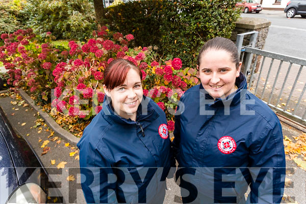 Kayla Cooley Caitriona McMahon who are looking for volunteers for the Community Crisis Response Team which is currently being set up in Kerry.