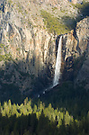 Bridalveil Fall from Tunnel View, Yosemite National park, Calif.