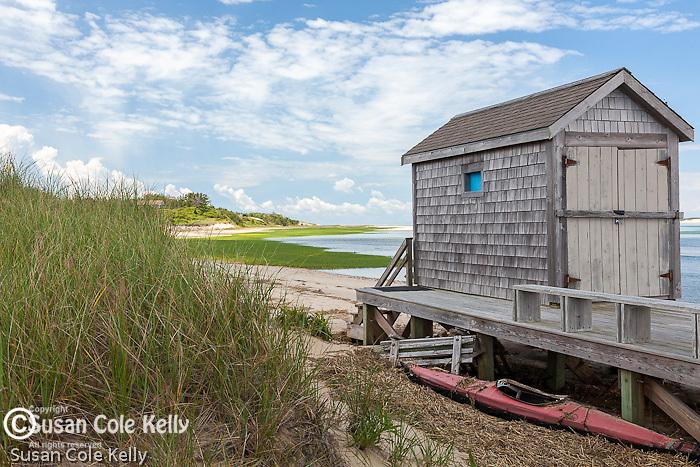 Lieutenant Island in Wellfleet, Cape Cod, Massachusetts, USA