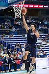 Donar Groningen Sean Cunningham during Basketball Champions League match between Movistar Estudiantes and Donar Groningen at Wizink Center in Madrid, Spain October 02, 2017. (ALTERPHOTOS/Borja B.Hojas)