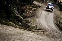 13th February 2020, Torsby base and Karlstad, Värmland County, Sweden; WRC Rally of Sweden, Shakedown event;  Sebastien Ogier (FRA) – Julien Ingrassia (FRA) - Toyota Yaris WRC