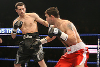 Carl Froch beats Sergey Tatevosyan in the 2nd round in a super middleweight contest at the Nottingham Ice Arena 24/11/06 - promoted by Hennessy Sports MANDATORY CREDIT: chris royle