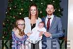 Fia Somers, Woodlawn celebrated her christening with her parents Kieran and Jenny and big sister Feithleann in Scotts Hotel on Saturday