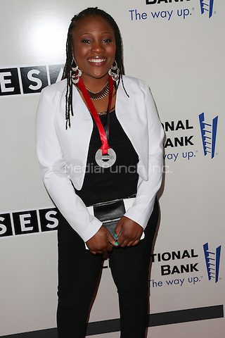 New York, NY - May 05 : Denisia &quot;Blu June&quot; Andrews attends the SESAC Pop Music Awards held at The<br /> New York Public Library on May 5, 2014 in New York City.<br /> Photo by Brent N. Clarke/MediaPunch