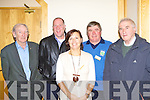 3687-3691.Tom Healy Abbeydourney, Brian Looney Dr Crokes, Niamh Wall Tarbert, Sean O'Sullivan Spa and Tim Kelliher St Pats at the GAA Club Voices seminar in the INEC on Saturday .