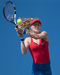Eugenie Bouchard (CAN) defeated Christina McHale (USA) 7-6, 6-0