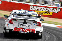 2016 Supercheap Auto Bathurst 1000. Round 2 of the Pirtek Enduro Cup. #33. Scott McLaughlin (NZL) David Wall (AUS). Wilson Security Racing GRM. Volvo S60 .