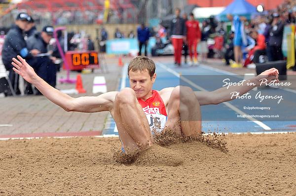 Aleksey Fyodorov (RUS). Mens Triple Jump.  Day 2. European Team Athletics Championships. Gateshead. Tyne and Wear. UK. 23/06/2013. <br />  MANDATORY Credit Garry Bowden/SIPPA - NO UNAUTHORISED USE - 07837 394578