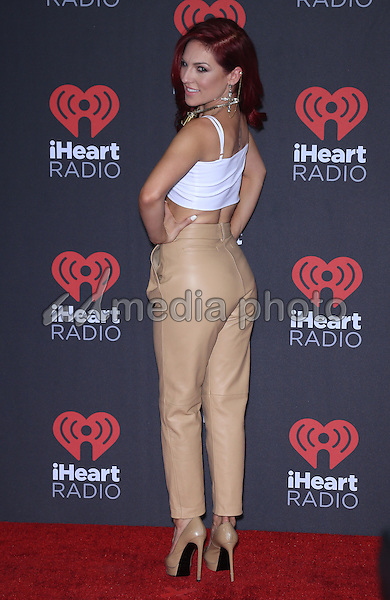 23 September 2016 - Las Vegas, NV -  Sharna Burgess.  2016 iHeart Radio Music Festival Photo Room at T-Mobile Arena.  Photo Credit: MJT/AdMedia