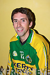 Billy Brick.....................at  the Kilmoyley team press night ahead of the County Hurling Final