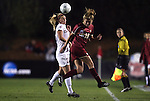 03 December 2010: Boston College's Kristie Mewis (19) and Stanford's Annie Case (26). The Stanford University Cardinal defeated the Boston College Eagles 2-0 at WakeMed Stadium in Cary, North Carolina in an NCAA Women's College Cup semifinal game.