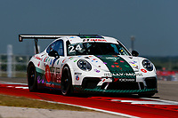 Porsche GT3 Cup Challenge USA<br /> Advance Auto Parts SportsCar Showdown<br /> Circuit of The Americas, Austin, TX USA<br /> Saturday 6 May 2017<br /> 24, Jake Eidson, GT3P, USA, 2017 Porsche 991<br /> World Copyright: Jake Galstad<br /> LAT Images