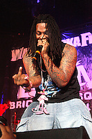Waka Flocka Flame performing at Sussquehanna Bank Center in Camden, New Jersey on June 9, 2012  © Star Shooter / MediaPunchInc NORTEPHOTO.COM