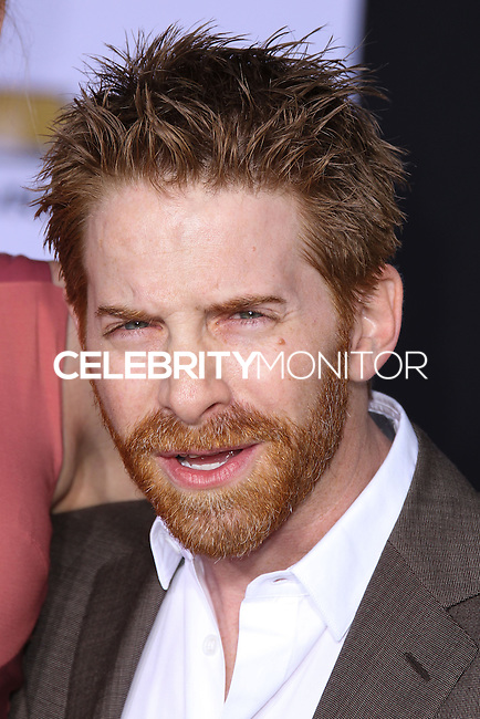 """HOLLYWOOD, LOS ANGELES, CA, USA - MARCH 13: Seth Green at the World Premiere Of Marvel's """"Captain America: The Winter Soldier"""" held at the El Capitan Theatre on March 13, 2014 in Hollywood, Los Angeles, California, United States. (Photo by Xavier Collin/Celebrity Monitor)"""