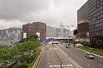 Hong Kong - Lungomare di  Wanchai.