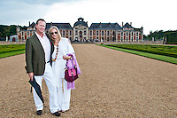 June 13, 2011 -- Friends of the Louvre at Chateau Champ de Bataille