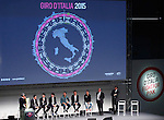 The Giro d'Italia 2015 presentation, Milan, Italy. 6th October 2014. <br /> Photo:Spada/LaPresse/www.newsfile.ie