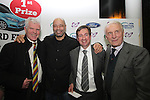 Colm Berkery, Paul McGrath, Nicky Smith and Giovanni Trapattoni at the Launch of the Monster Car Draw in aid of the Gary Kelly Centre at Smiths Garage....Photo NEWSFILE/Jenny Matthews.