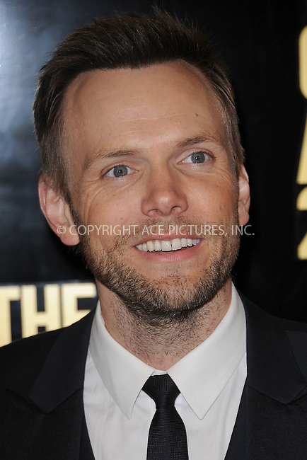 WWW.ACEPIXS.COM . . . . . .April 28, 2012...New York City....Joel McHale arriving to attend The Comedy Awards 2012 at Hammerstein Ballroom on April 28, 2012  in New York City ....Please byline: KRISTIN CALLAHAN - ACEPIXS.COM.. . . . . . ..Ace Pictures, Inc: ..tel: (212) 243 8787 or (646) 769 0430..e-mail: info@acepixs.com..web: http://www.acepixs.com .