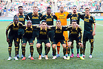 Jun 6, 2015; Portland, OR, USA; The starting eleven for the Portland Timbers pose before the game against the New England Revolution at Providence Park. Mandatory Credit: Steve Dykes-USA TODAY Sports