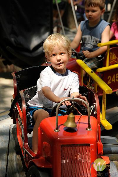 Knoebels Grove Amusement Park, Elysburg, PA. Firetrucks
