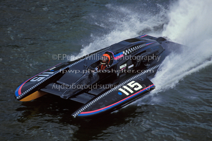 Thom Heins, GNH-115, Steubenville, OH 1993 (7 Litre Division II / Grand National Hydroplane)