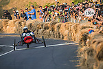 Team 台灣刁民隊  in action during the Red Bull Soapbox Race 2017 Taipei at Multipurpose Gymnasium National Taiwan Sport University on 01 October 2017, in Taipei, Taiwan. Photo by Victor Fraile / Power Sport Images