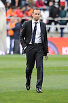Levante UD´s coach Lucas Alcaraz during 2014-15 La Liga match between Rayo Vallecano and Levante UD at Vallecas stadium in Madrid, Spain. February 28, 2015. (ALTERPHOTOS/Luis Fernandez)