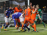 Queen of the South v Dundee United IRN-BRU Cup Semi Final 180217