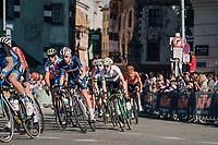 Romain Bardet (FRA/AG2R-La Mondiale) in the bunch<br /> <br /> MEN ELITE ROAD RACE<br /> Kufstein to Innsbruck: 258.5 km<br /> <br /> UCI 2018 Road World Championships<br /> Innsbruck - Tirol / Austria