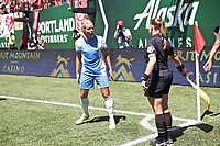 Portland, OR - Saturday August 05, 2017: Rachel Daly during a regular season National Women's Soccer League (NWSL) match between the Portland Thorns FC and the Houston Dash at Providence Park.