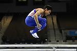 .Joshua Nathan British Gymnastics Championships. Mens u14 - u16 .2015Liverpool Echo Arena.