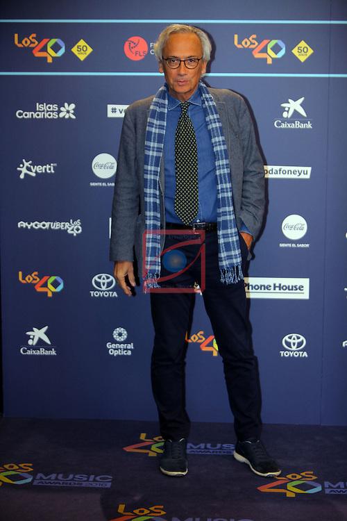 Los 40 MUSIC Awards 2016 - Photocall.<br /> Dr. Bonaventura Clotet.