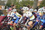 The start of the Ladies 2017 Strade Bianche running 127km from Siena to Siena, Tuscany, Italy 4th March 2017.<br /> Picture: Eoin Clarke   Newsfile<br /> <br /> <br /> All photos usage must carry mandatory copyright credit (&copy; Newsfile   Eoin Clarke)