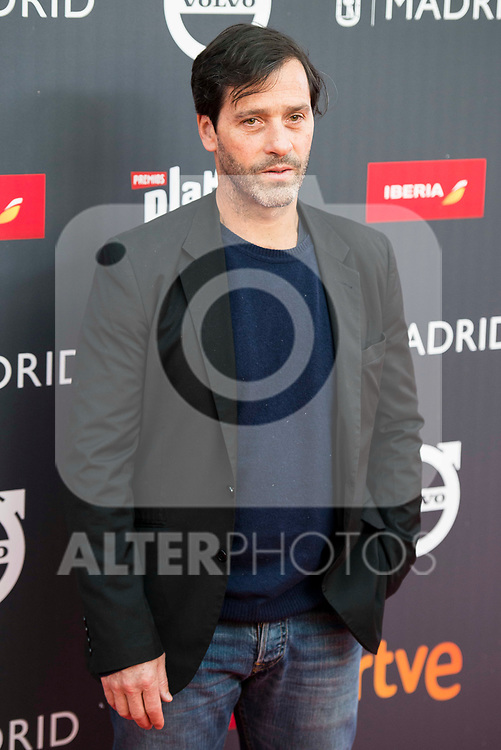 "Juan Pablo Shuk attends to the presentation of the ""Premios Platino"" at Palacio de Cristal in Madrid. April 07, 2017. (ALTERPHOTOS/Borja B.Hojas)"