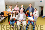 CCE Barr na Sraide Musicians & Singers at the Culture night held in Cahersiveen Library on Friday were front l-r; Orla Coffey, Denis Cournane, Ronán Clifford, bac l-r; Eilis Moriarty, Aisling Wharton, Saidbh Ní Bhraonain, Alan Clifford & Ciara Clifford.