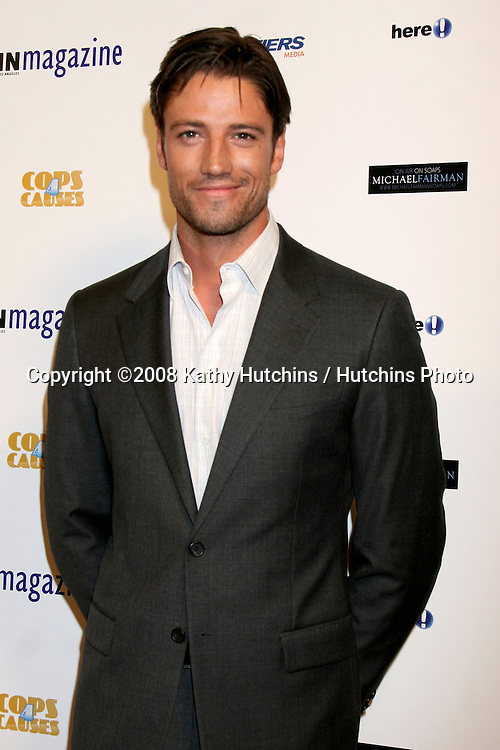 James Scott arriving at the SOAPS IN THE CITY soap website launch party  in West Hollywood, CA.October 16, 2008.©2008 Kathy Hutchins / Hutchins Photo...                .