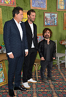 "LOS ANGELES, CA. October 04, 2018: Sacha Gervasi, Jamie Dornan & Peter Dinklage at the Los Angeles premiere for ""My Dinner With Herve"" at Paramount Studios.<br /> Picture: Paul Smith/Featureflash"