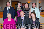 Enjoying the Rathmore Social Action anniversary celebrations in the Gleneagle Hotel on Sunday 27th December were front row l-r: Eileen, Jer and Eileen O'Donoghue. Back row: Dan Martin O'Sullivan, Helen O'Donoghue, Maria and Mattie O'Sullivan