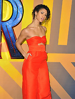 Vick Hope at the &quot;Black Panther&quot; European film premiere, Hammersmith Apollo (Eventim Apollo), Queen Caroline Street, London, England, UK, on Thursday 08 February 2018.<br /> CAP/CAN<br /> &copy;CAN/Capital Pictures
