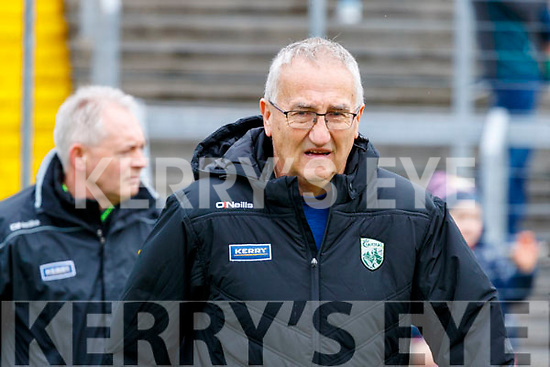 Kerry Selector Donie Buckley during the Allianz Football League Division 1 Round 4 match between Kerry and Meath at Fitzgerald Stadium in Killarney, on Sunday.