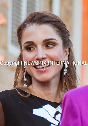 12.06.2016; Amman, Jordan: QUEEN RANIA<br />attends an Iftar with a group of Jordanian women at the The Raghadan Palace garden.<br />The Iftar is the evening meal when Muslims end their daily Ramadan fast at sunset<br />Mandatory Photo Credit: &copy;RHC/NEWSPIX INTERNATIONAL<br /><br />PHOTO CREDIT MANDATORY!!: NEWSPIX INTERNATIONAL(Failure to credit will incur a surcharge of 100% of reproduction fees)<br /><br />IMMEDIATE CONFIRMATION OF USAGE REQUIRED:<br />Newspix International, 31 Chinnery Hill, Bishop's Stortford, ENGLAND CM23 3PS<br />Tel:+441279 324672  ; Fax: +441279656877<br />Mobile:  0777568 1153<br />e-mail: info@newspixinternational.co.uk<br />&ldquo;All Fees Payable To Newspix International&rdquo;