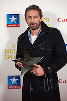 Matthias Schoenaerts gets a star at  the Movie Premiere of ' A Bigger Splash ' - Belgium