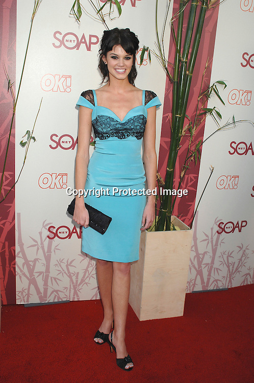 "Rachel Melvin..arriving at The SOAPnet's ""Night Before Party"" for the ..nominees of the 2007 Daytime Emmy Awards on            June 14, 2007 at Boulevard3 in Hollywood, California...Robin Platzer, Twin Images........212-935-0770"