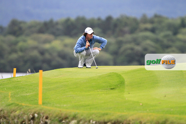 Rory McIlroy on the short par3 10th green during Day 3 of the 3 Irish Open at the Killarney Golf & Fishing Club, 31st July 2010..(Picture Eoin Clarke/www.golffile.ie)