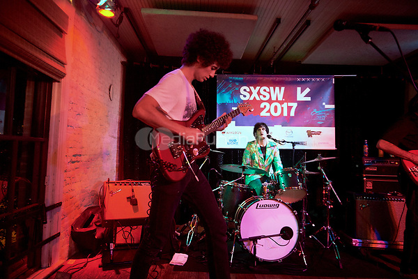 AUSTIN, TX - MARCH 18: Ron Gallo performs at Lambert's on March 18 in Austin, Texas during the 2017 South by Southwest music festival. Credit: Tony Nelson/MediaPunch
