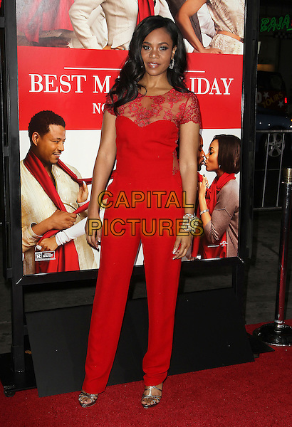 05 November 2013 - Hollywood, California - Regina Hall at &quot;The Best Man Holiday&quot; Los Angeles Premiere held at TCL Chinese Theatre on November 5th, 2013<br /> CAP/ADM/KB<br /> &copy;Kevan Brooks/AdMedia/Capital Pictures