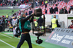 14.04.2019, Merkur Spielarena, Duesseldorf , GER, 1. FBL,  Fortuna Duesseldorf vs. FC Bayern Muenchen,<br />  <br /> DFL regulations prohibit any use of photographs as image sequences and/or quasi-video<br /> <br /> im Bild / picture shows: <br /> Feature Kamerainstalation<br /> <br /> Foto © nordphoto / Meuter
