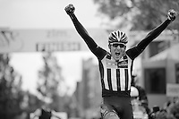 a very happy Matt Brammeier (IRL/MTN-Qhubeka) wins solo<br /> <br /> stage 5: Eindhoven - Boxtel (183km)<br /> 29th Ster ZLM Tour 2015